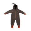 Ducksday Ducksday Fleece Suit Grey/Orange