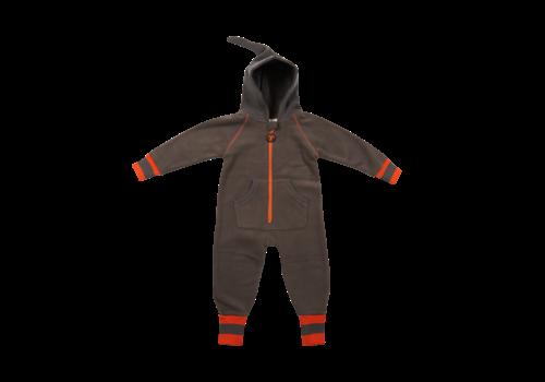 Ducksday Ducksday Fleece Suit Grey/Orange