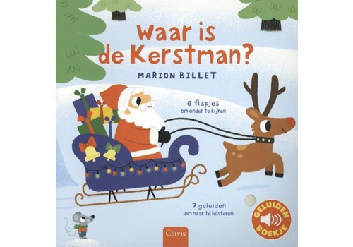 clavis Clavis Geluidenboek 'Waar is de Kerstman?'