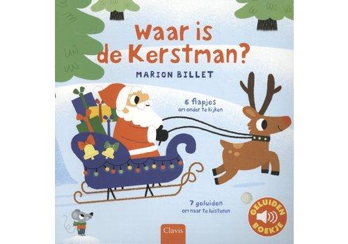 clavis Clavis Geluidenboekje 'Waar is de Kerstman?'