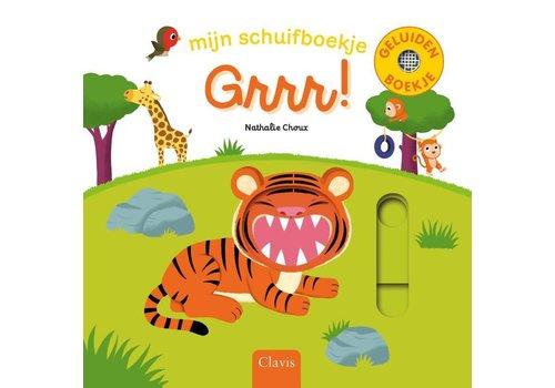 clavis Clavis  Geluidenboek 'Mijn schuifboekje - Grrr!'