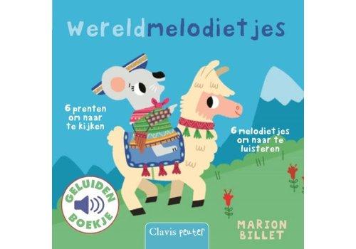 clavis Clavis Geluidsboek 'Wereldmelodietjes'