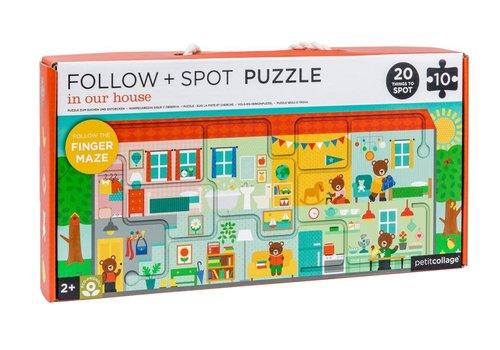 Petit Collage Petit Collage Volg+Zoek puzzel Huis