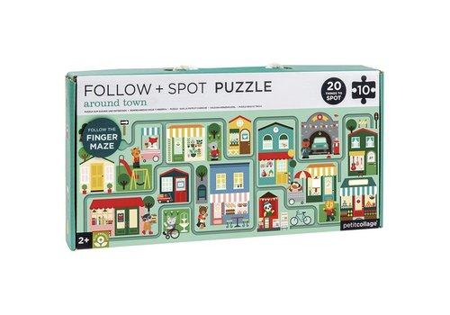 Petit Collage Petit Collage Volg+Zoek puzzel Stad