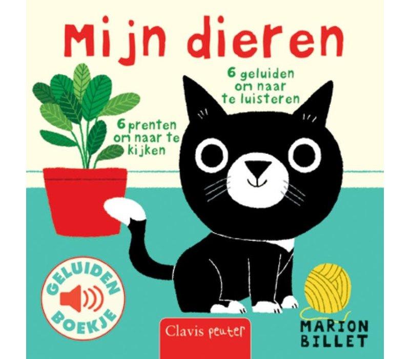 Clavis Geluidenboek 'Mijn Dieren'