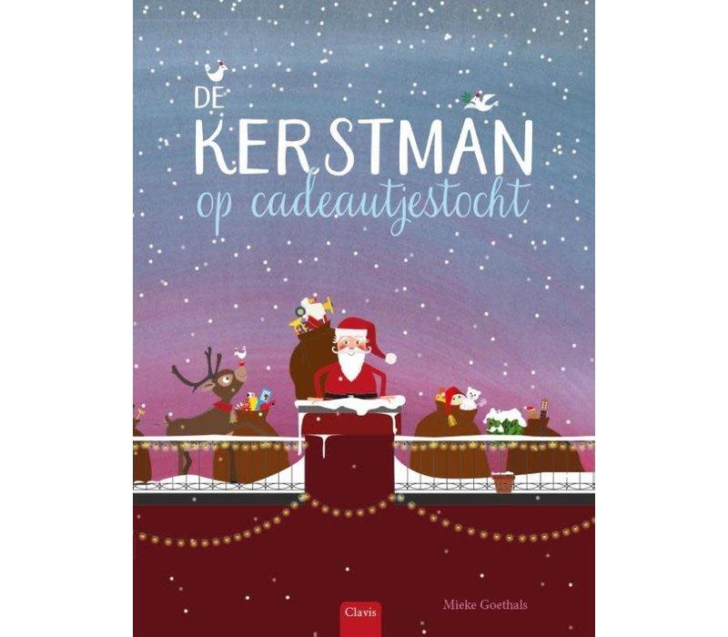 Clavis 'De Kerstman Op Cadeautjestocht'