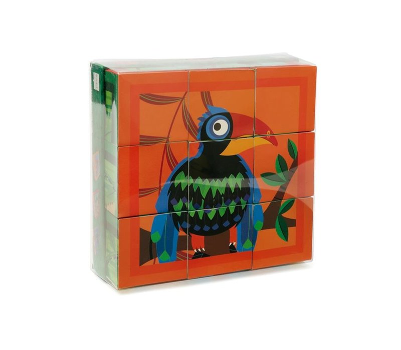 Scratch Blokkenpuzzel Jungle