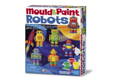 4M 4M Gips Gieten en Verven: Robots