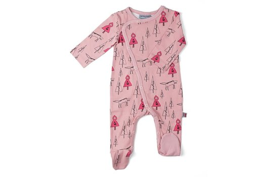 Froy&Dind Jumpsuit with feet Redhood