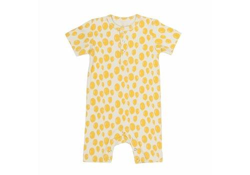 Trixie Onesie kort Yellow