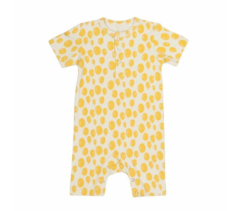 Onesie kort Yellow