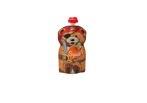 Kleine Giraf Squiz knijpzakje beer