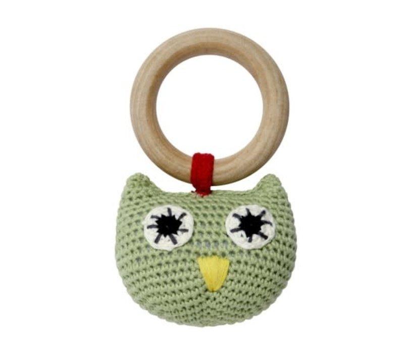 Franck & Fischer Nanna owl rattle