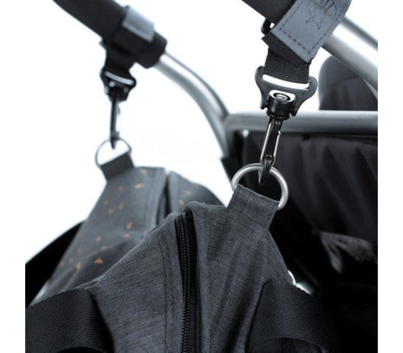 casual stroller hooks (set of 2)