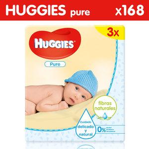 Huggies Huggies Pure Billendoekjes - 168 babydoekjes