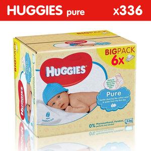 Huggies Huggies Pure Billendoekjes - 336 babydoekjes