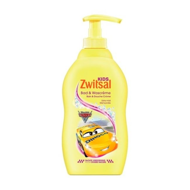 Zwitsal Bad & Wascrème - Disney Cars - 400 ml