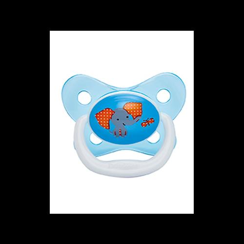 Dr. Brown Dr. Brown's Fopspeen - 6 -12 maanden - Blauw
