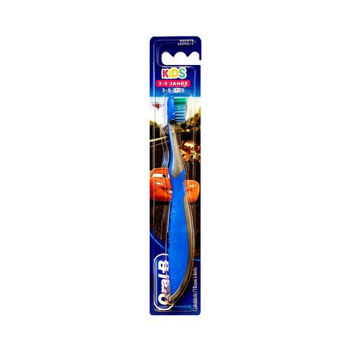Oral B Oral-B Kids - Tandenborstel Cars - 3/5 jaar- Blauw