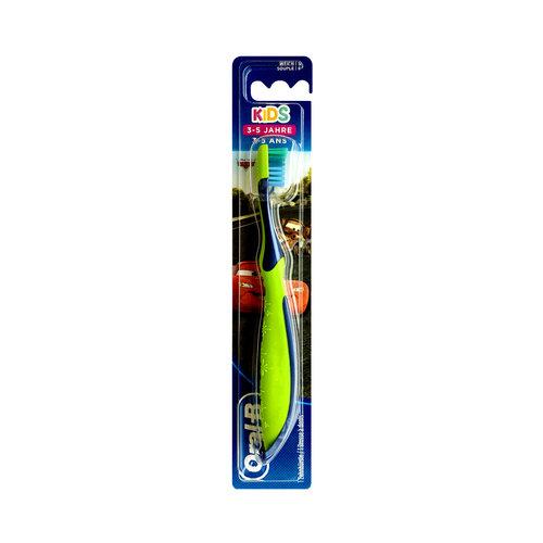 Oral B Oral-B Kids - Tandenborstel Cars - 3/5 jaar - Groen
