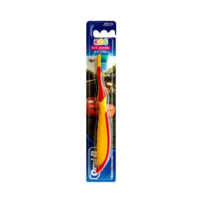 Oral B Oral-B Kids - Tandenborstel Cars - 3/5 jaar- Oranje