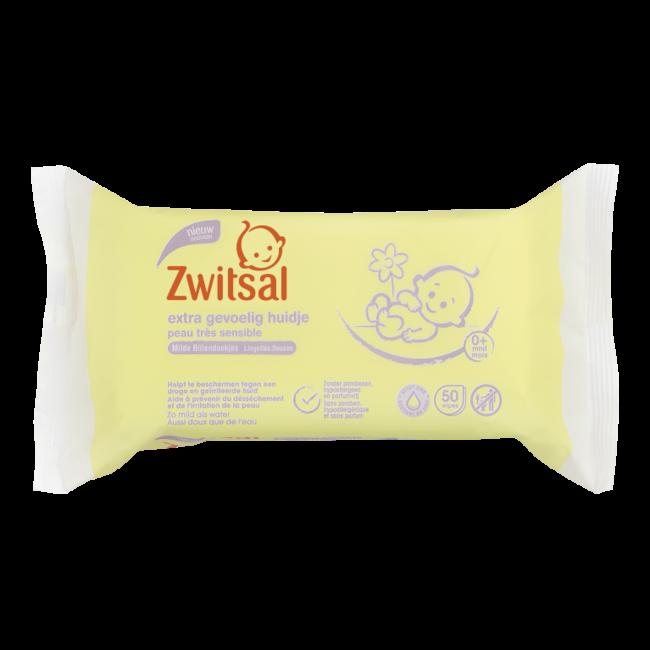 Zwitsal Baby  Billendoekjes - Extra gevoelige huidje - 50st