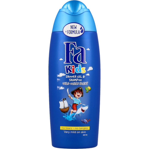 FA FA Kids - Douchegel & Shampoo  Piraten - 250ml