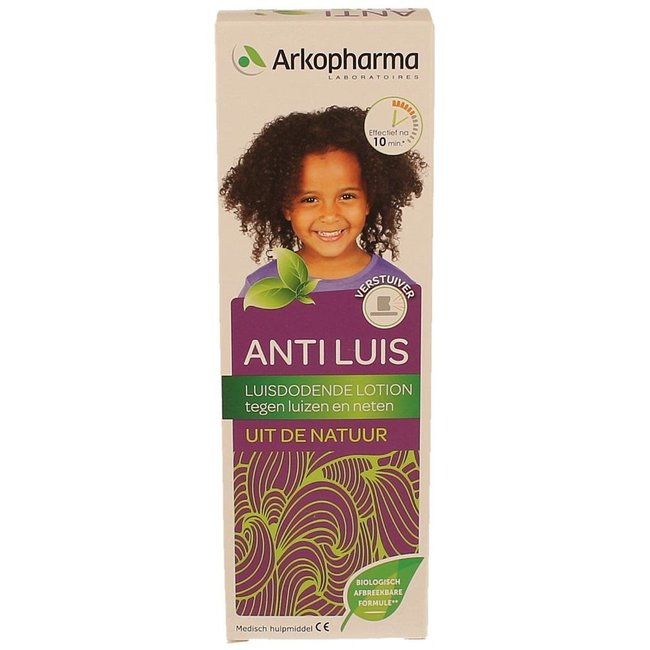 Arkopharma - Natuurlijke Anti Luis Lotion Spray - 100ml