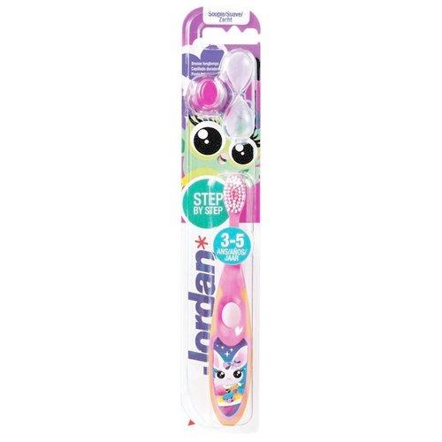 Jordan Jordan Kids - Tandenborstel Soft 3-5 jaar - Roze