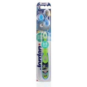Jordan Jordan Kids - Tandenborstel Soft 3-5 jaar - Blauw