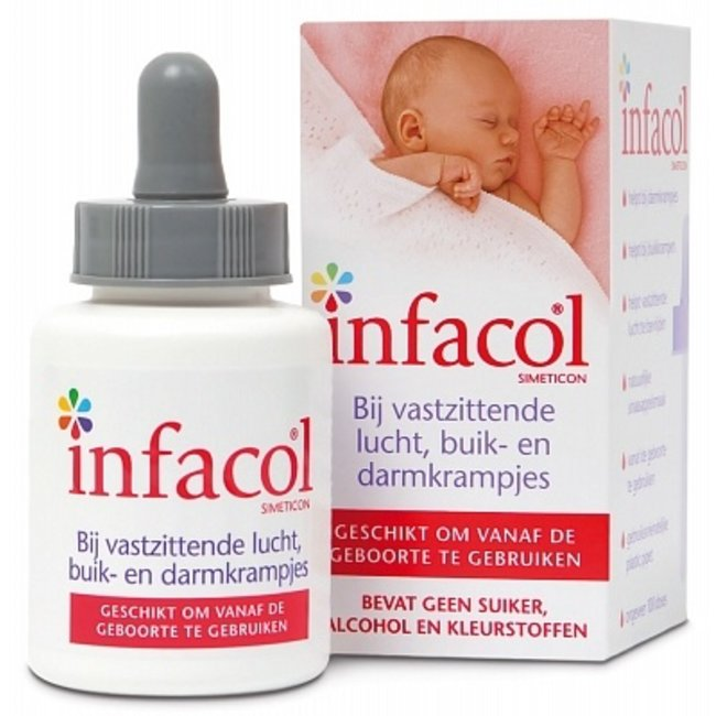 Infacol - Simeticon - 50ml - Bij vastzittende lucht, buik en darmkrampjes