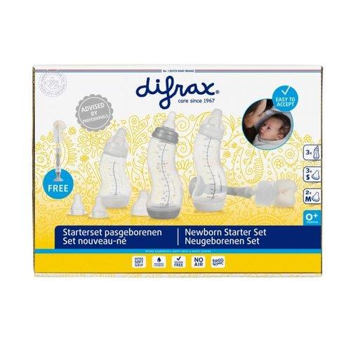 Difrax Difrax - Starterset Newborn - 9 stuks