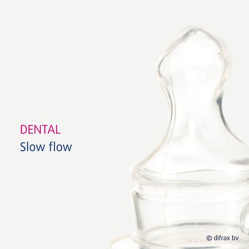 Difrax Difrax - Flessenspeen Dental -  Medium - 2st