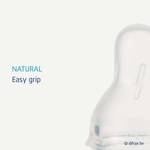 Difrax Difrax - Flessenspeen Natural - Large - 2st