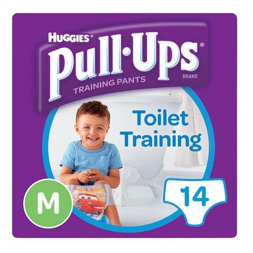 Huggies Huggies Pull Ups Boy oefenbroekjes - Medium (10-18KG) - 14 broekjes