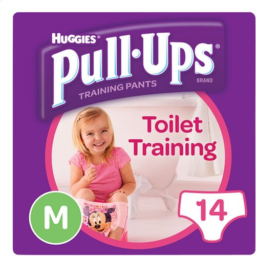 Huggies Huggies Pull Ups Girl oefenbroekjes - Medium - 14 broekjes