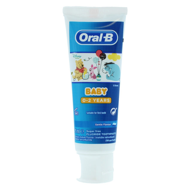 Oral B Baby - Winnie de Poeh Tandpasta - 0/2 jaar - 75ml