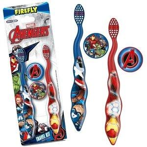 Marvel Marvel Avangers - 2 set tandenborstels - 3/5 jaar + Reiskit