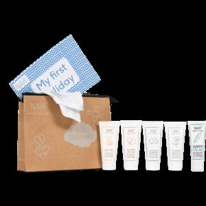 Naïf Naïf Care - Travel verzorgingskit - 4 delig - Verwenpakket