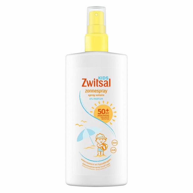 Zwitsal Zwitsal Kids - Zonnebrandspray - SPF 50+ - 200 ml - 0% parfum