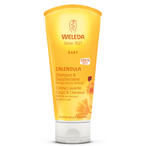 Weleda Weleda Calendula - Baby Shampoo&Douchecréme - 200 ml