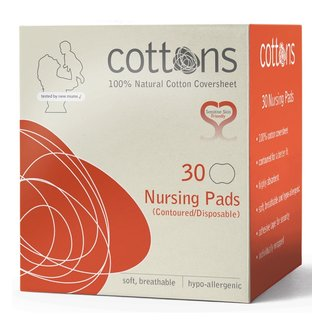 Cottons Cottons - Zoogcompressen - 30st- 100% Natuurlijke Katoen