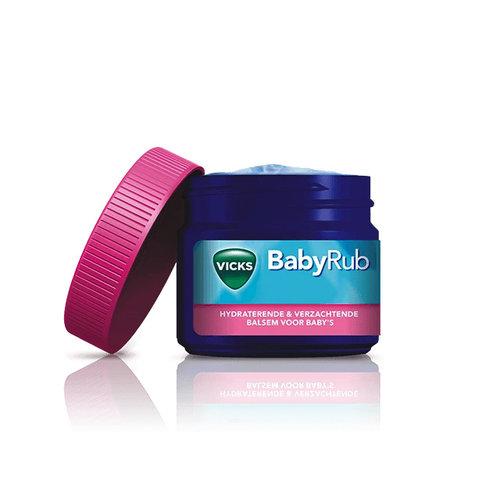 Vicks Vicks - BabyRub Balsem - 50gram - Voor kalmerende & ontspannende baby massage