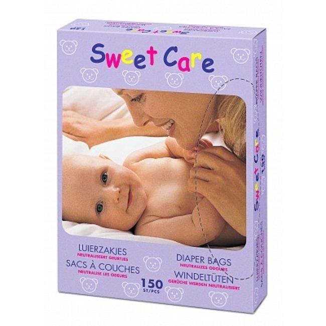 Sweet Care Sweet Care - Baby Luierzakjes - 150 stuks - Geur Neutraliserend