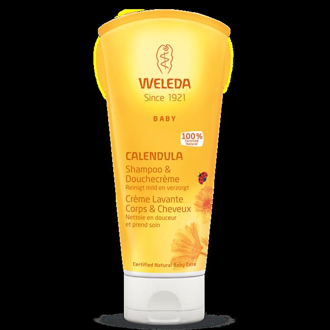 Weleda Calendula - Shampoo & Gezichtscréme - Voordeelset