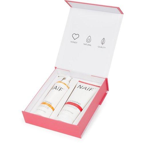 Naïf Naïf Care - The Body Kit - Verwen pakket voor moeders - 3 delig