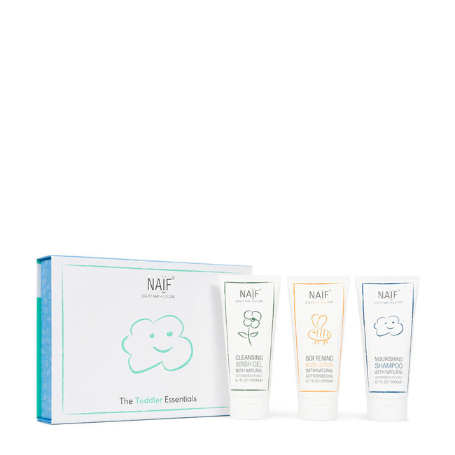 Naïf Care - Toddler Essentials Geschenkset - 3 delig - Verwenpakket