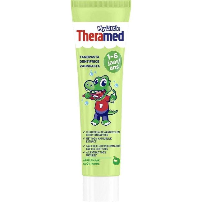Theramed My little Theramed 1-6 jaar - tandpasta - Appel