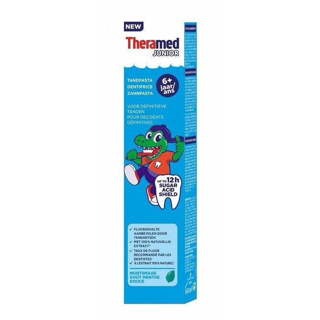 Theramed Junior - 6+ jaar tandpasta - Muntsmaak - 75ml