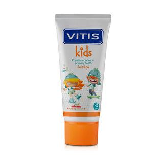 Vitis Vitis Kids - +2 jaar tandpasta/gel - Kersen smaak